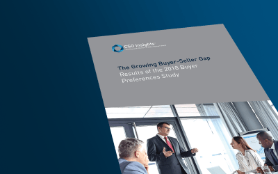 CSOi Buyer Preferences Study 2018