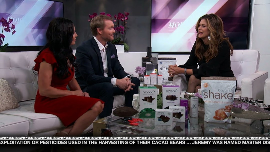 Well Beyond Healthy Chocolate Was Just Featured On Modern Living With Kathy Ireland!
