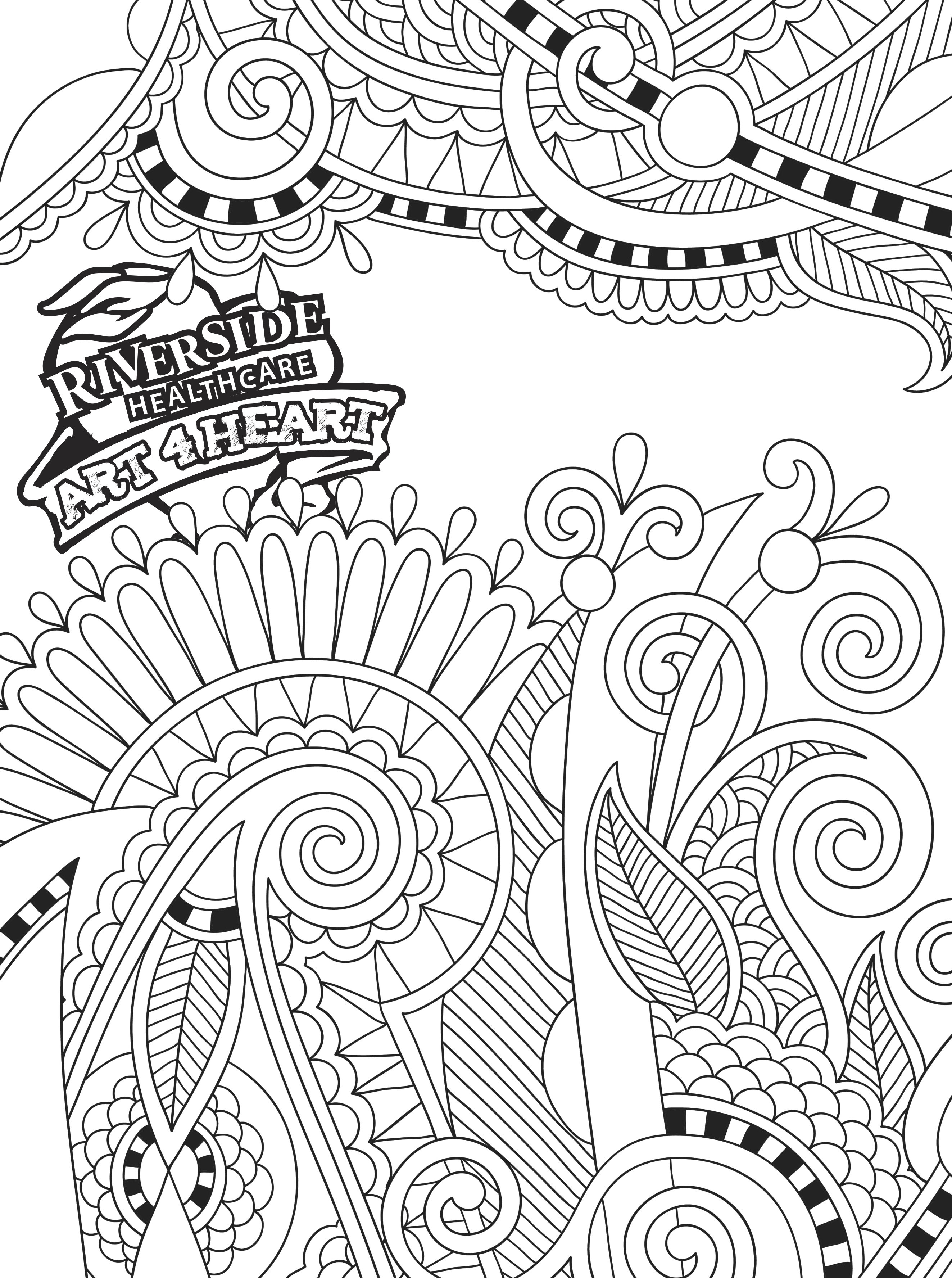 Printable Coloring Pages – HealthCurrents   coloring pages for adults cool