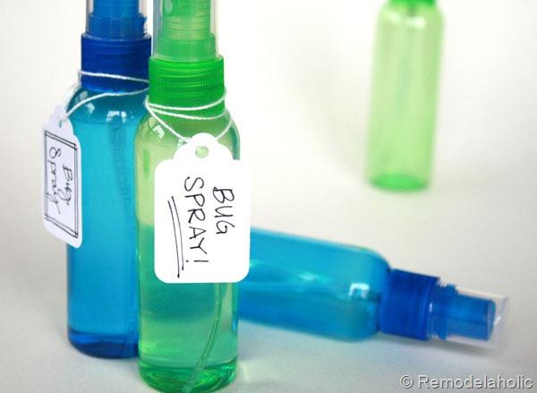 Natural Mosquito Spray Recipe