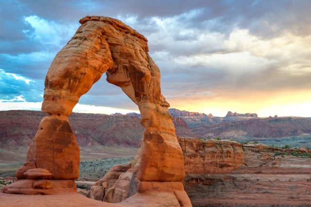 Delicate Arch. Arches national park, Utah