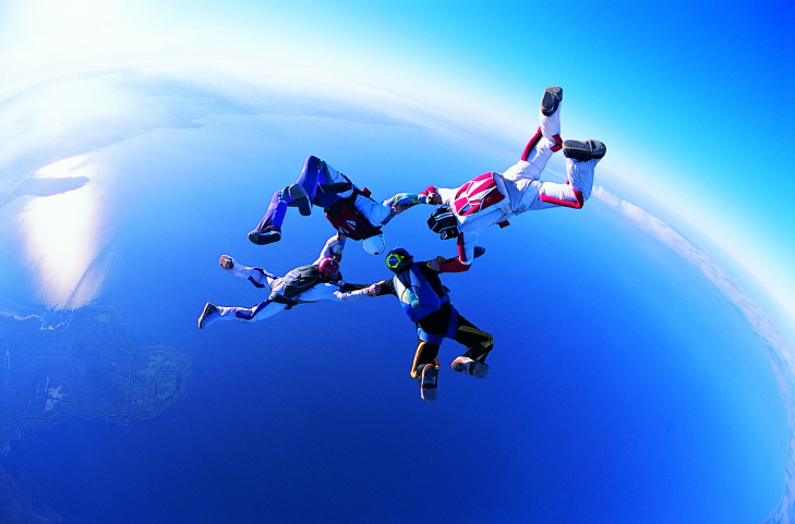 The Health Benefits of Skydiving • Health Fitness Revolution