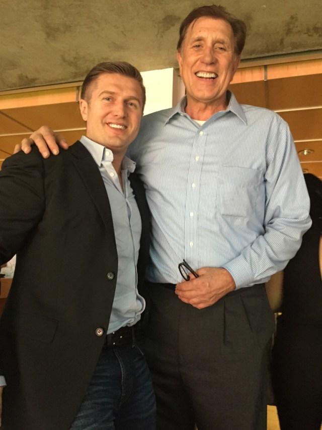 Rudy Tomjanovich and Samir Becic