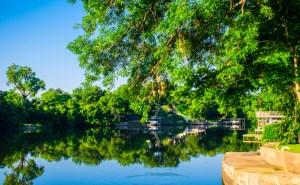 Lake LBJ reflections Morning Sunshine Lake Front Property