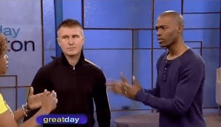 With Presidential health and fitness advisor Dr. Ian Smith promoting health in Houston on Great Day Houston with Deborah Duncan