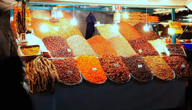 Fruits and Nuts in Marrakech by Evan Bench