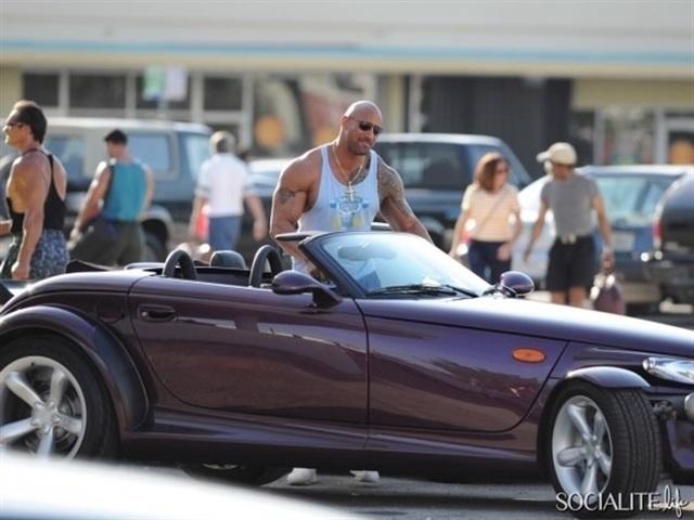 "The Cars Dwayne ""The Rock"" Johnson Drives"