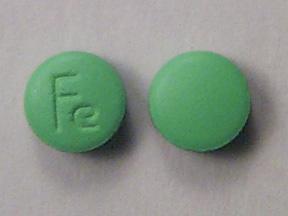Ferrous Gluconate and Ferrous Sulfate