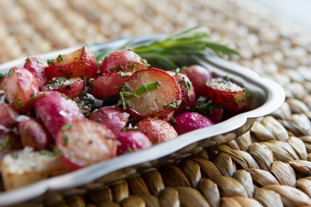 Roasted Radishes #paleo #dairyfree #keto #lowcarb