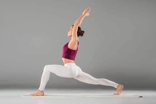 Virabhadrasana for weight loss