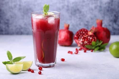 Summer Pomegranate Slush