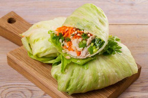 carrot lettuce wrap
