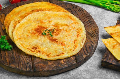 carrot and sprouts paratha