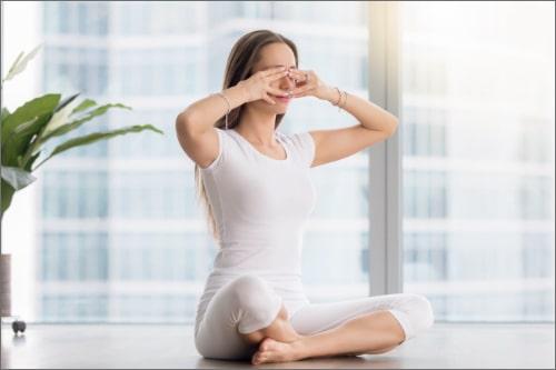 Bhramari Pranayama - Breathing exercise for COVID-19