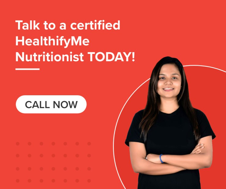 Talk to a certified HealthifyMe nutritionist today!