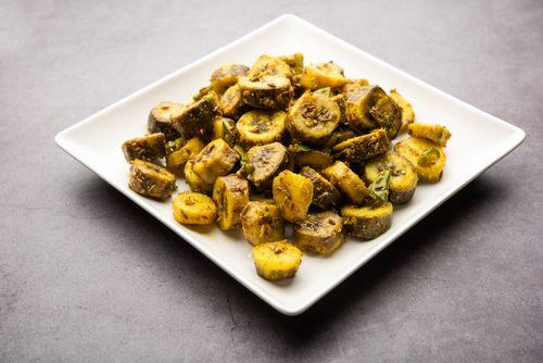 Kele ki Sabzi or Banana Sabzi