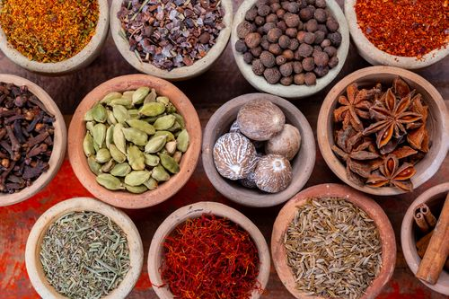 Herbs and Spices- Healthy Navratri Food