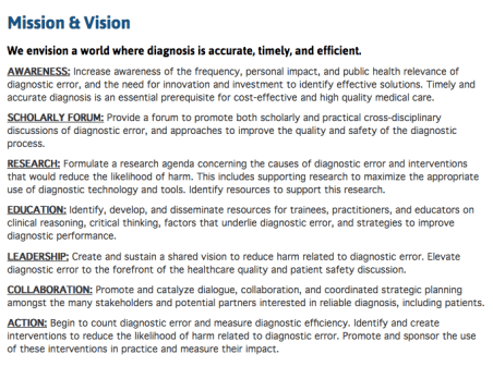 SIDM Mission and Vision