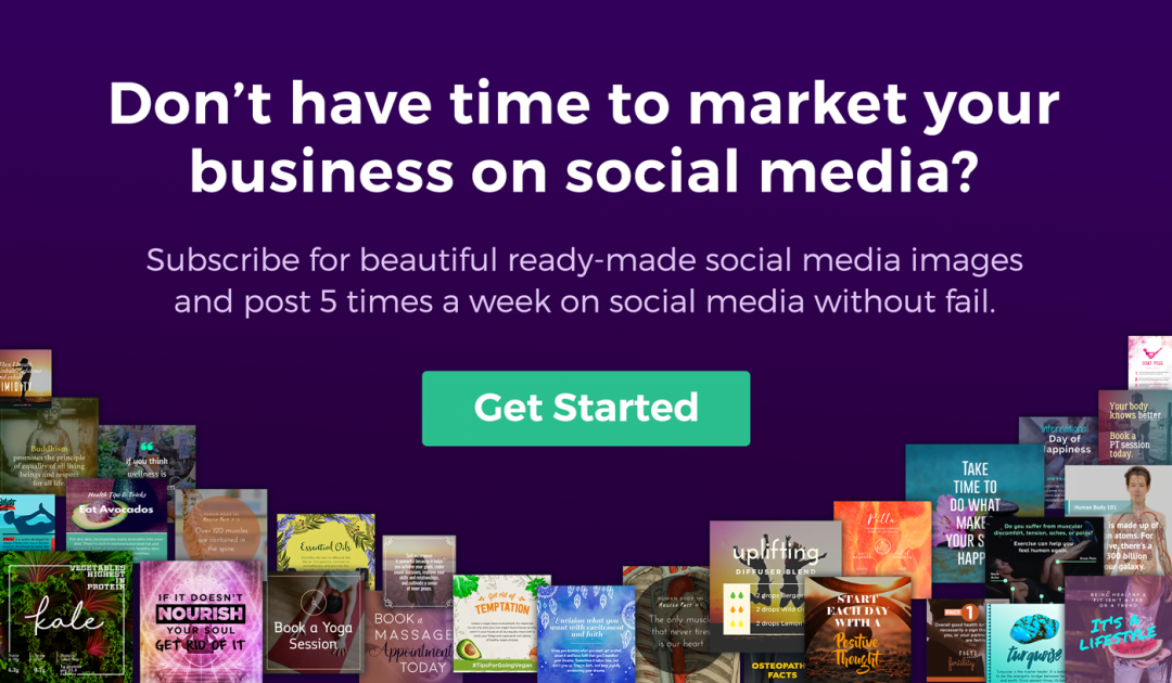 Healthinomics | Beautiful Ready-Made Social Media Images for Health & Wellness Business Owners