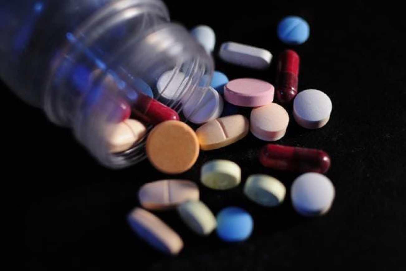 Essential medicines concept.