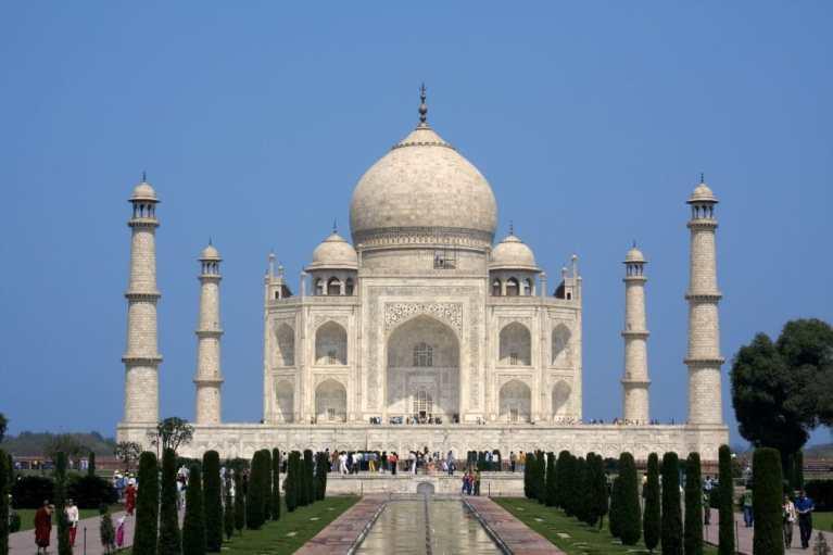 Taj Mahal. Copyright: <a href='https://www.123rf.com/profile_sundeepgoel'>sundeepgoel / 123RF Stock Photo</a>