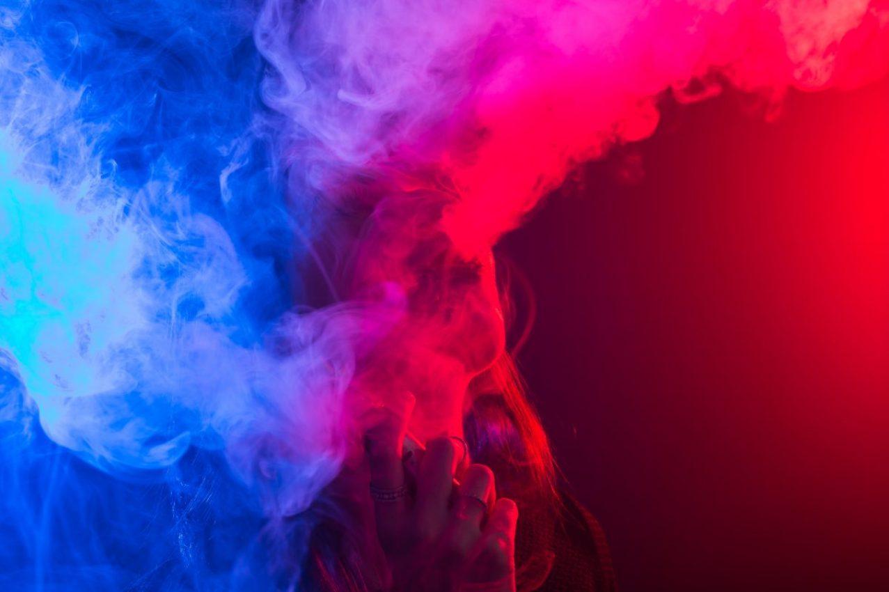 E-cigarettes concept.