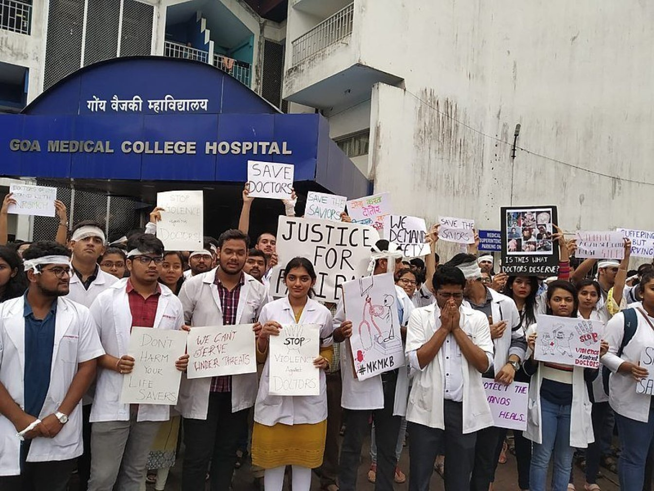 Draft law on violence against doctors