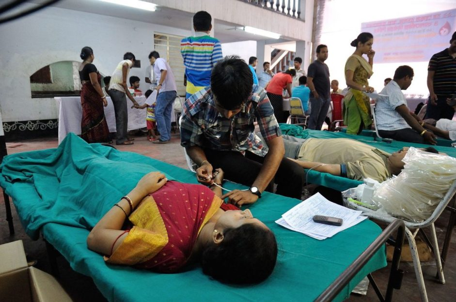 Blood supply in India does not meet demand