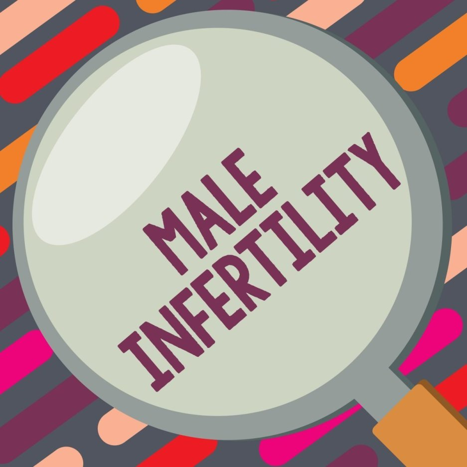 Text sign showing Infertility in Men. Infertility. Conceptual photo Inability of a male to cause pregnancy in a fertile.