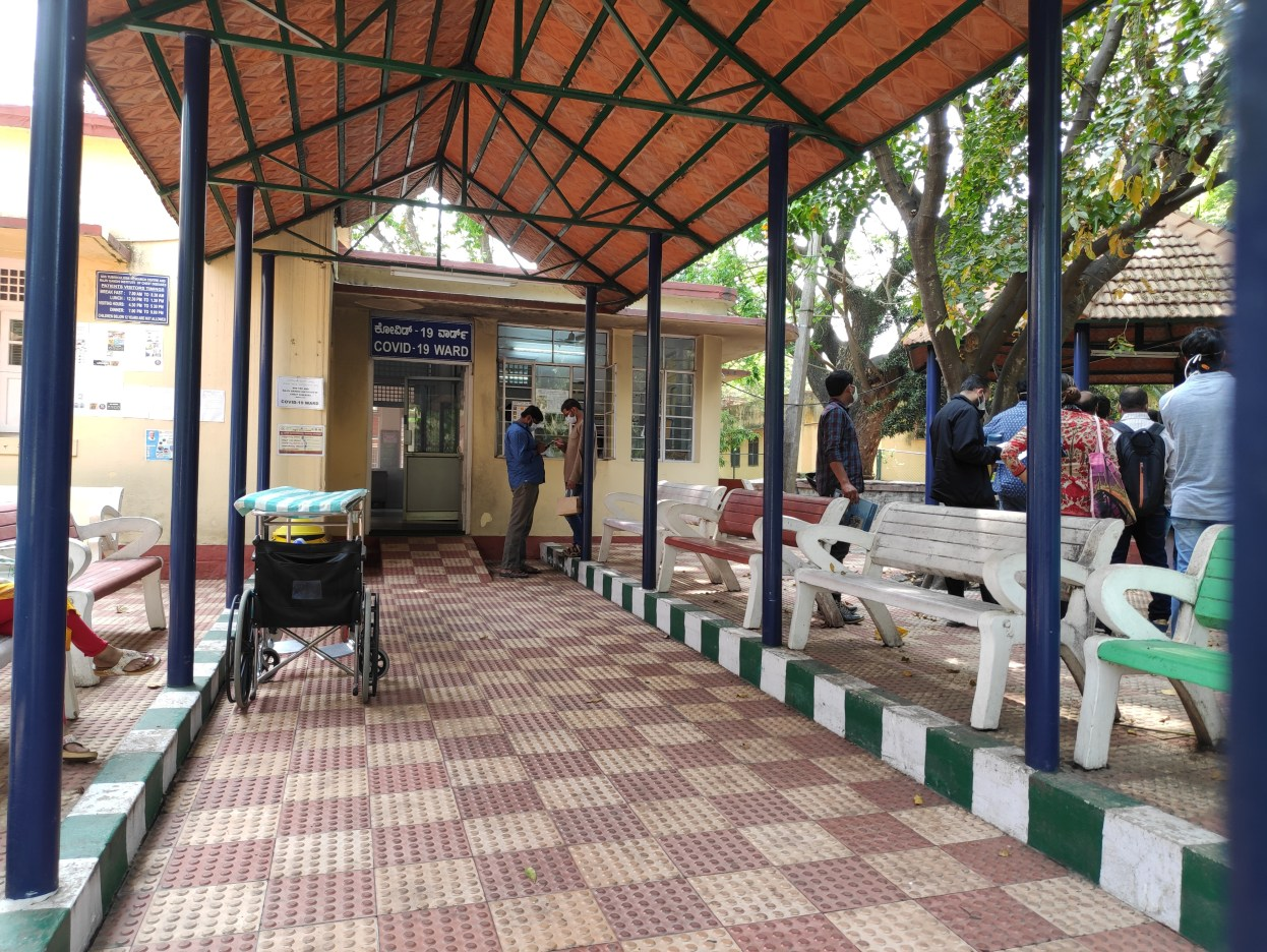 142157361 - bengaluru / bangalore, india - march 4 2020: a hospital ward for testing covid-19 or coronavirus setup in bangalore, india. the infectious disease has over 93,000 confirmed cases worldwide, with india has reporting 28 confirmed coronavirus cases. COVID-19 case count concept. Image credit: Ajay Bhaskar / 123rf. Critical COVID-19 concept. COVID-19 tests concept. Pandemic preparedness concept.