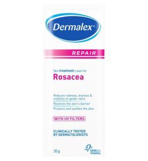 rosacea dermalex problem skin creams