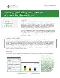 Subject Matter Brief: Clinical Surveillance