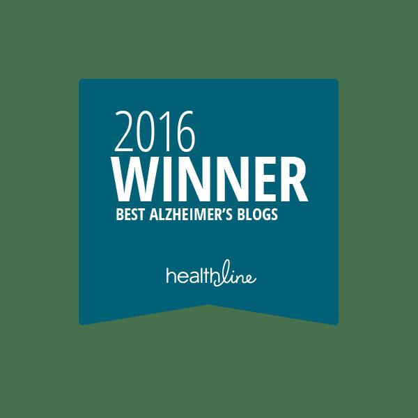 alzheimers best blogs badge