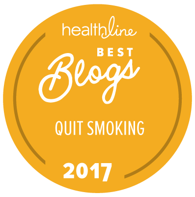 smoking cessation best blogs badge
