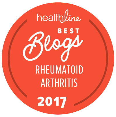 rheumatoid arthritis best blogs badge