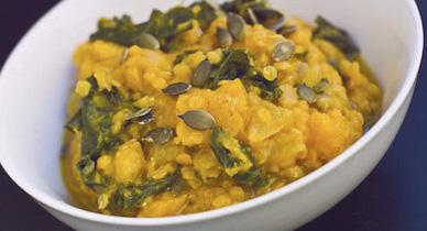 lentil and garbanzo soup
