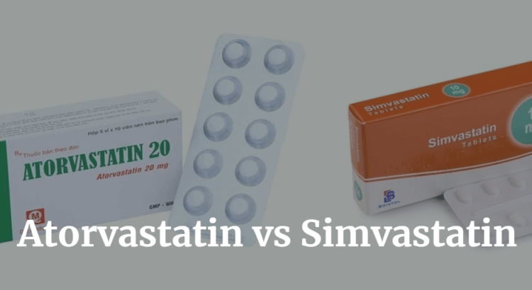 Atorvastatin vs Simvastatin