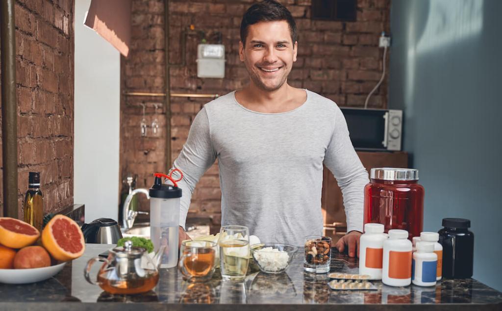 Best Supplements for Men Over 40