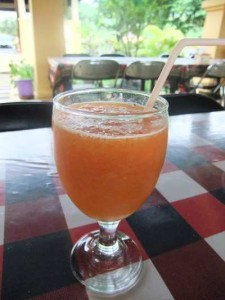 papaya melon drink, papaya health benefits