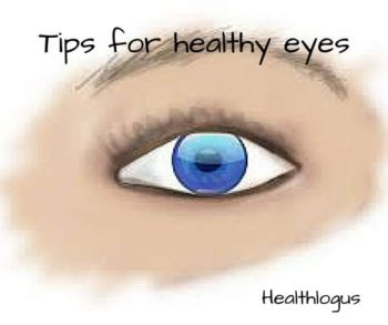 tips for healthy eyes