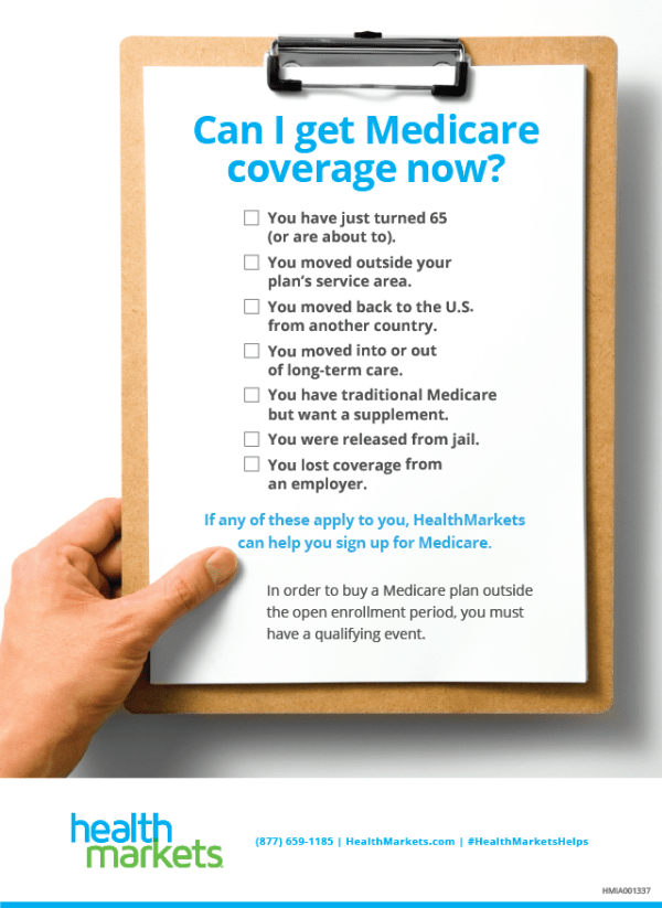 Can I Get Medicare Coverage Now? [INFOGRAPHIC]