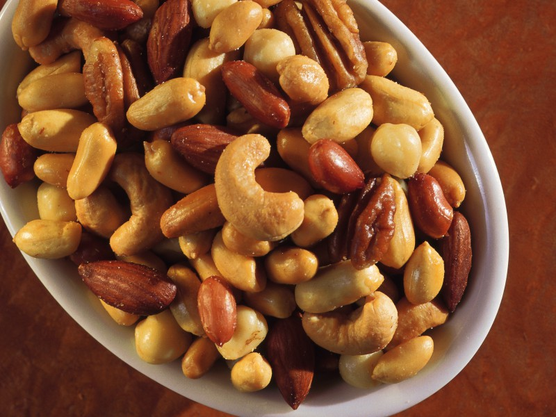 Go nuts … and cheat father time