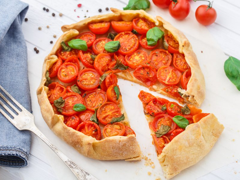 In the kitchen with Kelley: Tomato basil pie