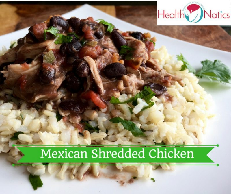 Slow Cooker Mexican Shredded Chicken Recipes