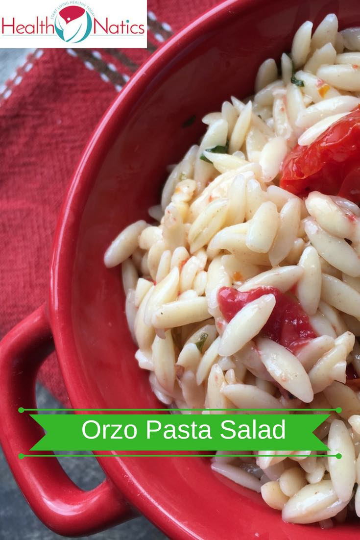 Orzo Pasta Salad Recipe with Tomatoes and Capers