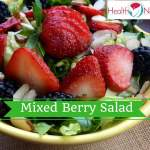 Refreshing Mixed Berry Salad Recipe with Raspberry Vinaigrette