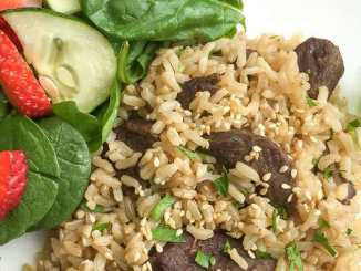 Instant Pot Beef & Rice Recipe