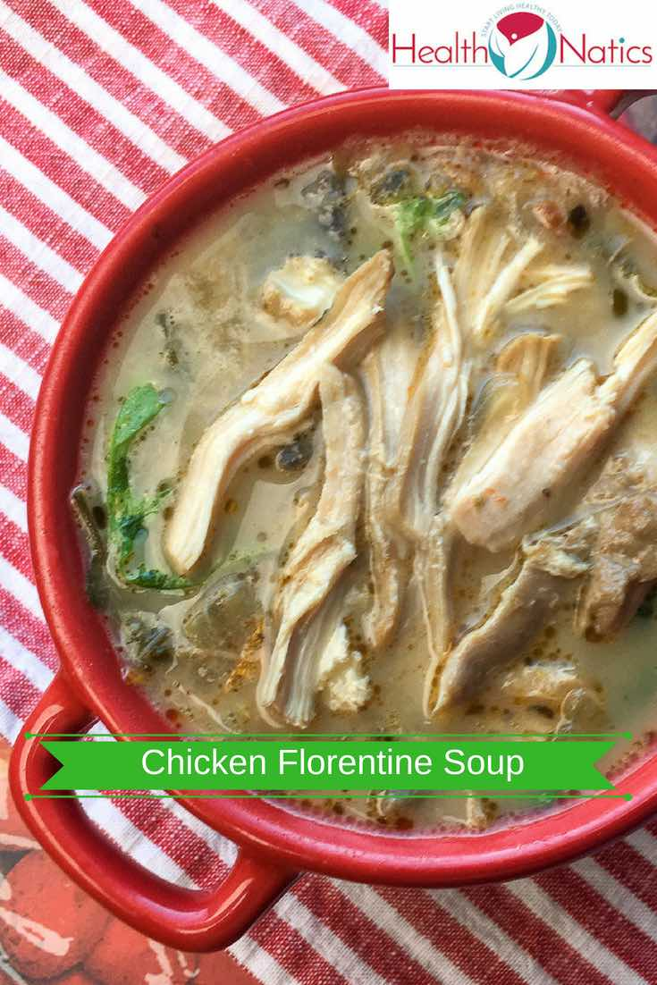 Instant Pot Chicken Florentine Soup Recipe