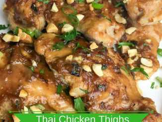 Instant Pot Thai Chicken Thighs Recipe