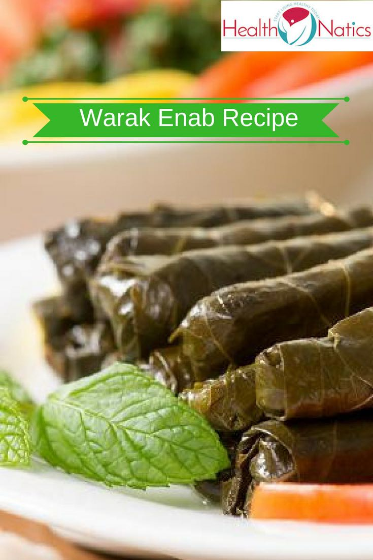 Warak Enab Recipe (STUFFED GRAPE LEAVES)
